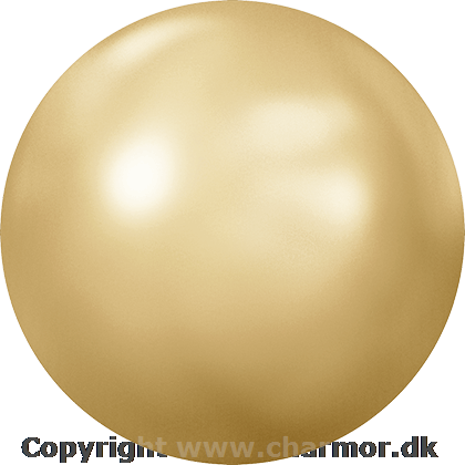 GOLDEN SHADOW PEARL (Swarovski Cabochon 2080/4)