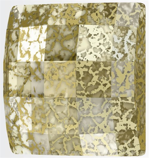 GOLD PATINA (Swarovski Chessboard 2493)