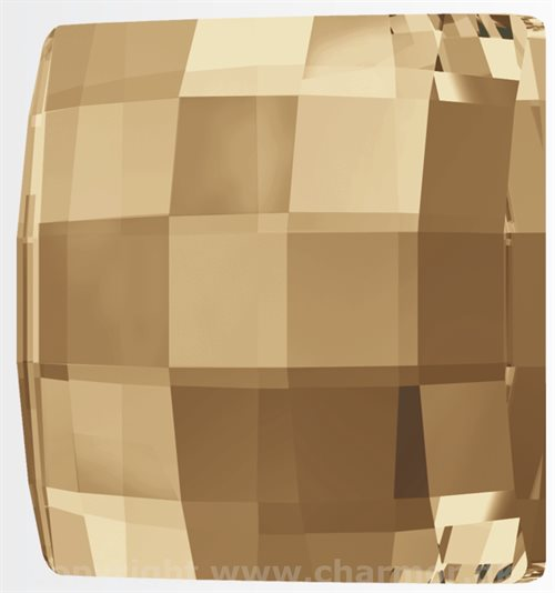 GOLDEN SHADOW (Swarovski Chessboard 2493)